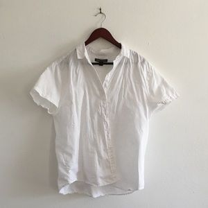 Tommy Bahama 100% Linen White Button Down Shirt